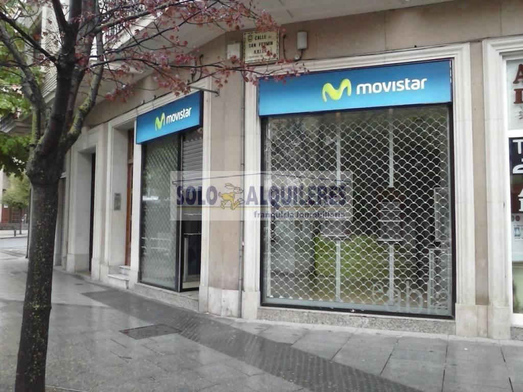 Local en alquiler en Segundo Ensanche, Pamplona
