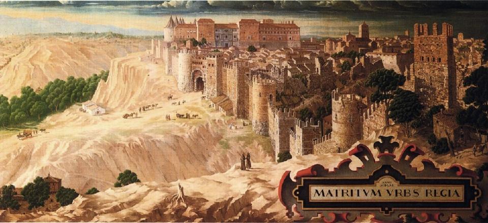 Madrid Capital en 1561