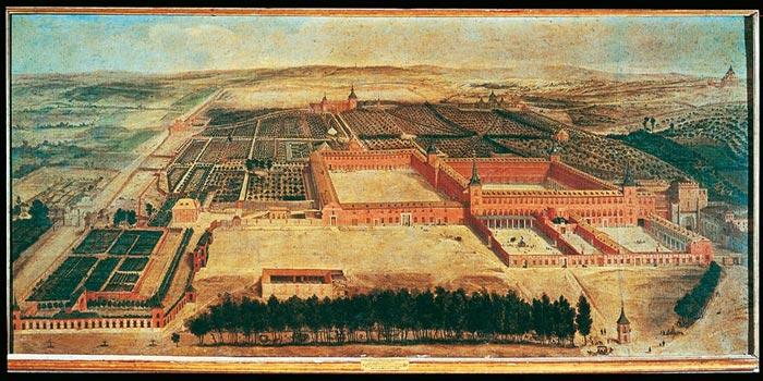 Barrio de Jeronimos en el siglo XVII - Palacio del Buen Retiro