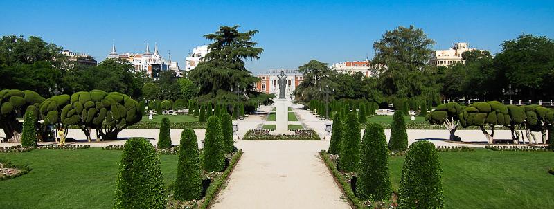 Parque del Buen Retiro Jeronimos