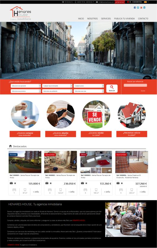 web-inmobiliaria-henareshouse